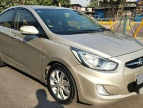 Used Hyundai Verna 1.6 CRDi 2011 AT for sale in Thane