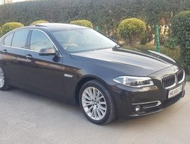 Used 2017 BMW 5 Series 520d Luxury Line AT in New Delhi