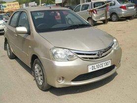 Used 2012 Toyota Platinum Etios MT in Faridabad