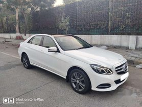 Used 2016 Mercedes Benz E Class AT for sale in Mumbai