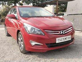 Hyundai Verna 1.6 CRDi SX, 2015, Diesel MT for sale in Hyderabad