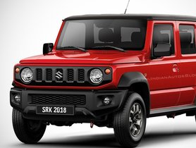 5-door Suzuki Jimny (next-gen Maruti Gypsy) Reportedly Launching By Year-end