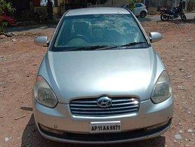 Used Hyundai Verna CRDi 2007 MT for sale in Hyderabad