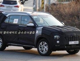 XL-size Hyundai Creta (7-seater Model) Makes Spy Pic Debut