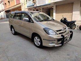Toyota Innova 2.5 V 7 STR, 2008, Diesel MT for sale in Hyderabad
