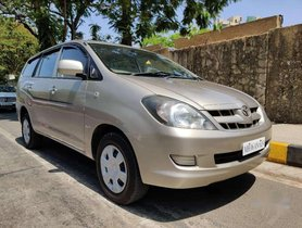Toyota Innova 2.5 G 8 STR BS-IV, 2008, Diesel MT for sale in Mumbai