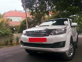 Toyota Fortuner 4x4 2012 MT for sale in Bangalore