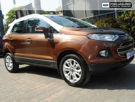 Used 2017 Ford EcoSport 1.5 Petrol Titanium MT for sale in Chennai