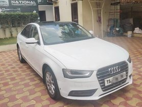2015 Audi A4 35 TDI Technology AT for sale in Hyderabad