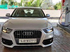 Used Audi Q3 2.0 TDI 2013 AT for sale in Ahmedabad