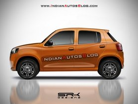 Here's What the All New Maruti Alto Could Look Like