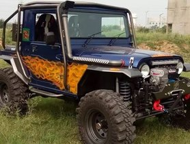 Here's The Wildest Mahindra Thar We've Ever Seen