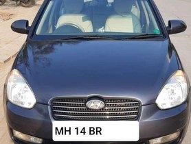 Used Hyundai Verna CRDi 2009 MT for sale in Pune