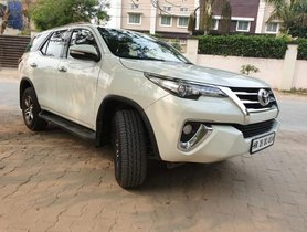 Used Toyota Fortuner 2.8 2WD 2017 AT for sale in Gurgaon