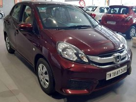 Used Honda Amaze 2016 MT for sale in Chennai