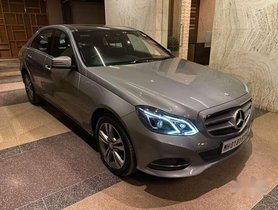 Used Mercedes-Benz E-Class, 2015, Diesel AT for sale in Mumbai