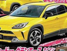 Toyota Yaris SUV Imagined Digitally