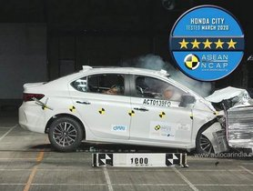 All New Honda City Among The Safest In Segment, Bags Full 5-Star Rating from ANCAP