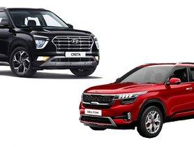 Top-end 2020 Hyundai Creta Compared With Most Expensive Kia Seltos