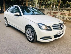 2012 Mercedes Benz C-Class C 220 CDI BE Avantgare AT in New Delhi