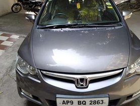 Used Honda Civic 1.8V 2008, Petrol MT for sale in Hyderabad