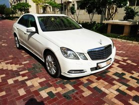 2012 Mercedes Benz E Class AT for sale in New Delhi