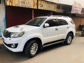 Toyota Fortuner 3.0 Diesel 2013 AT for sale in Bhopal