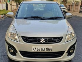 Maruti Suzuki Dzire VDI 2012 MT for sale in Bangalore