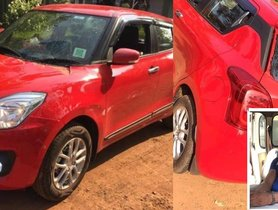 Brand New Maruti Swift Taken For A Spin, Angry Mob Thrashes Owner
