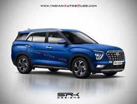 Hyundai Creta 7-seater Model Imagined Digitally