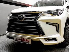 This Toyota Fortuner Looks Like a Rs 2.33 Crore Worth Lexus SUV