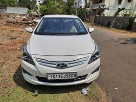 Used 2016 Hyundai Verna 1.6 CRDi SX MT for sale in Hyderabad