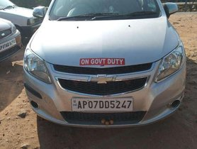Used Chevrolet Sail 1.2 Base 2016 MT for sale in Vijayawada