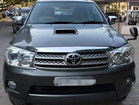 Used 2010 Toyota Fortuner 3.0 Diesel MT for sale in Mumbai