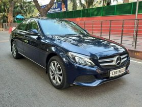 Used Mercedes Benz C-Class C 220 CDI Avantgarde 2016 AT in New Delhi