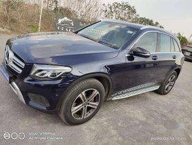 Used Mercedes Benz GLC 2018 AT for sale in Hyderabad