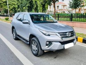 2017 Toyota Fortuner 2.8 2WD MT for sale in New Delhi