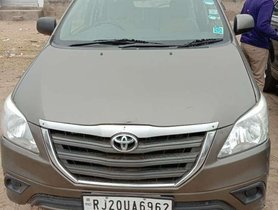 Used 2015 Toyota Innova MT for sale in Jaipur