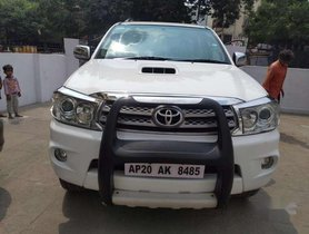 Used 2011 Toyota Fortuner AT for sale in Hyderabad