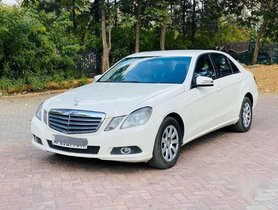 Used 2010 Mercedes Benz E Class AT for sale in Hyderabad