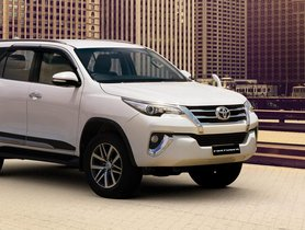 Toyota Fortuner To Get Costlier In The Coming Time