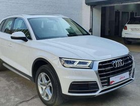 Audi Q5 30 TDI Premium Plus, 2018, Diesel AT for sale in Ludhiana