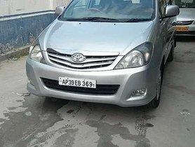 Used 2011 Toyota Innova MT for sale in Vijayawada