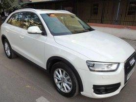 2013 Audi Q3 2.0 TDI Quattro Premium Plus AT in Ahmedabad
