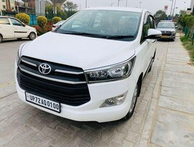 Used 2017 Toyota Innova Crysta AT for sale in Noida
