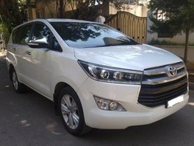 Used Toyota Innova Crysta 2.8 ZX BSIV AT in Bangalore