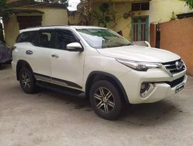 2017 Toyota Fortuner AT for sale in Hyderabad