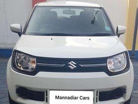 Used Maruti Suzuki Ignis 2017 MT for sale in Coimbatore