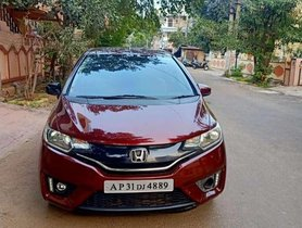 Used Honda Jazz S 2015 MT for sale in Visakhapatnam