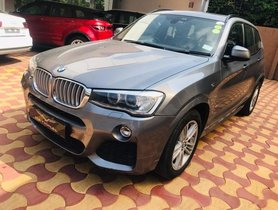 2015 BMW X3 xDrive30d M Sport AT for sale in Hyderabad